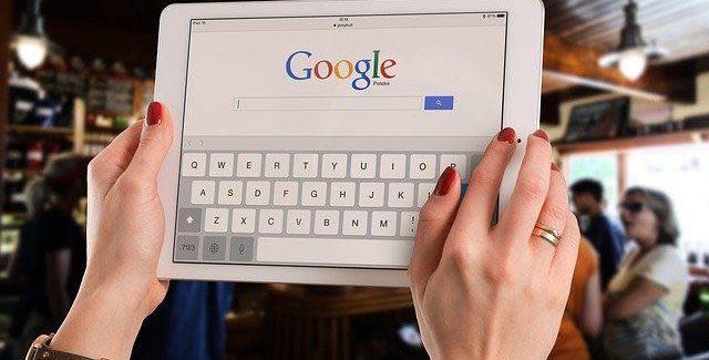 Liste de choix Google