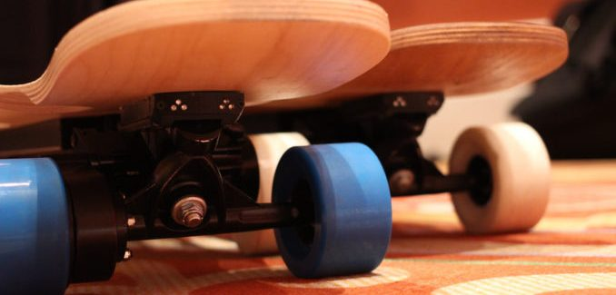 Fonctionnement de skate électriques?