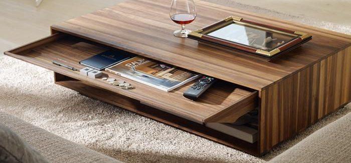 Choisir une table basse moderne pratique